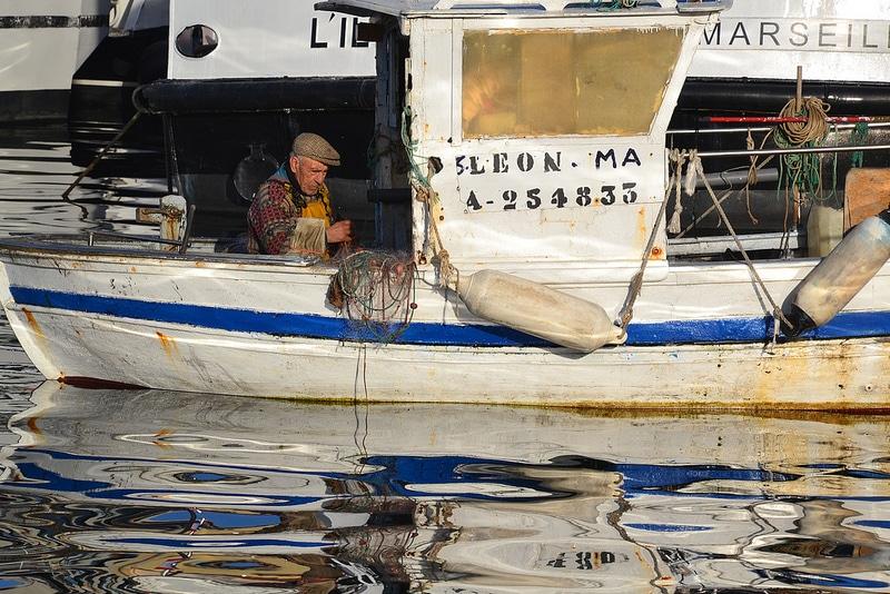 Pêche, Vieux-Port, Marseille