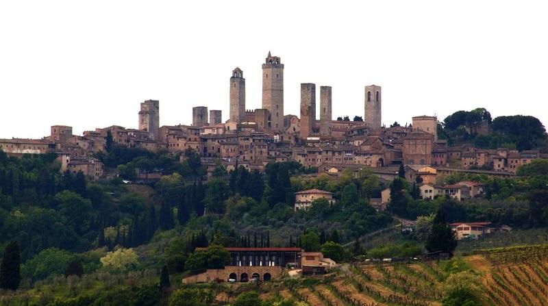 Village de San Gimignano