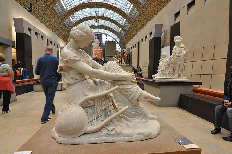 Statue au Musée d'Orsay
