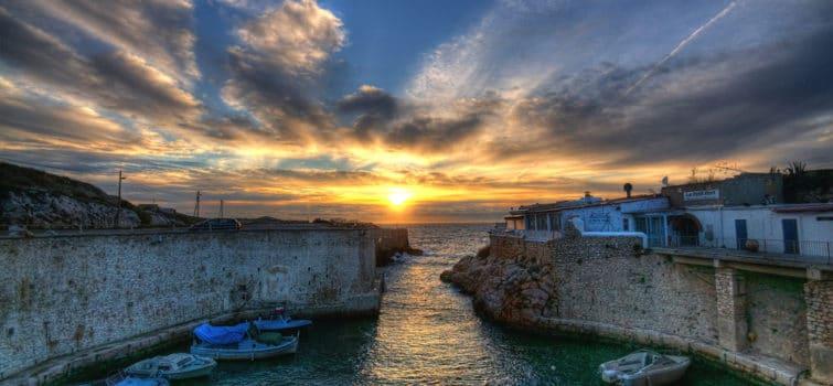Coucher de soleil, Marseille