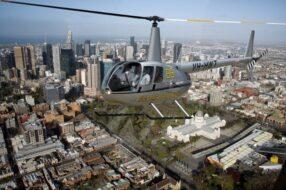 Survol en hélicoptère de Melbourne