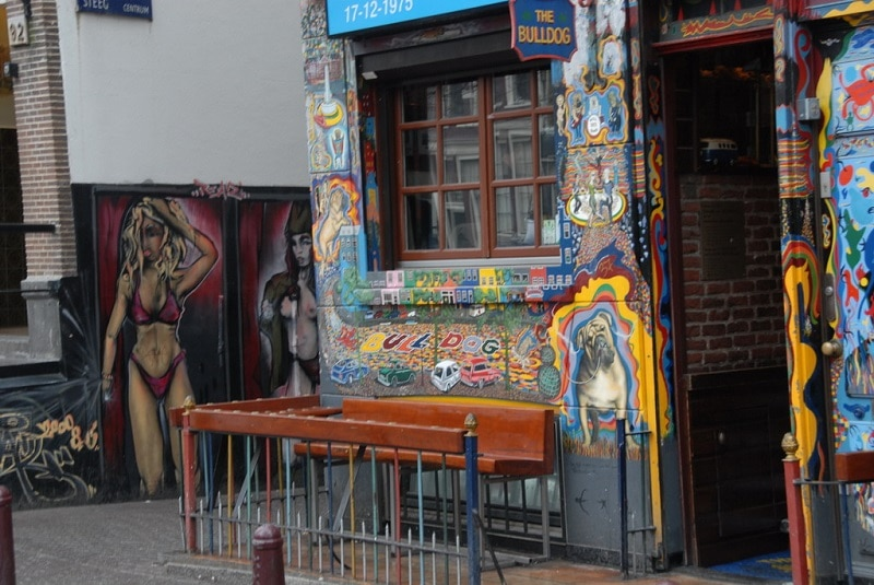 The Bulldog coffee-shop Amsterdam