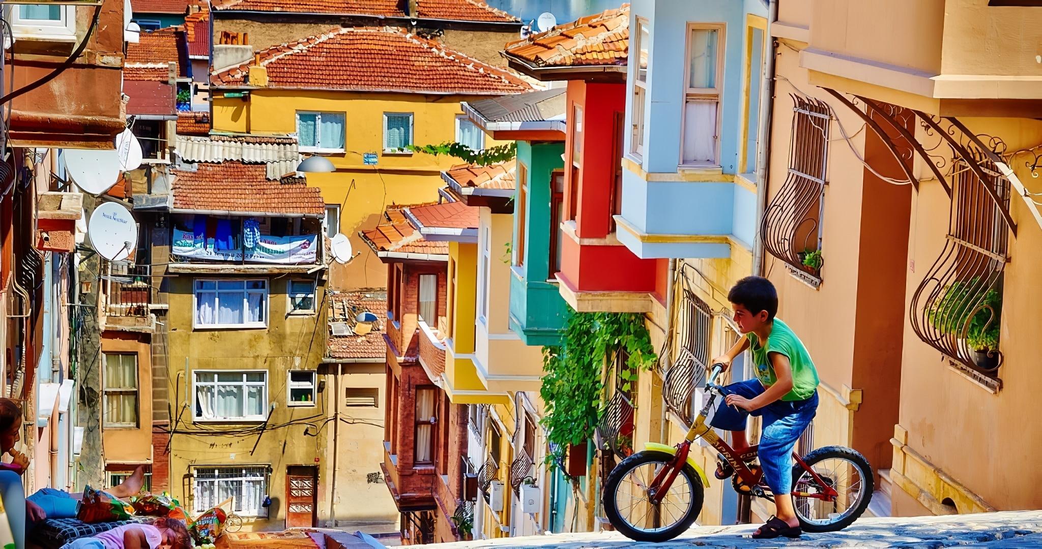 Les 12 villes les plus colorées du monde