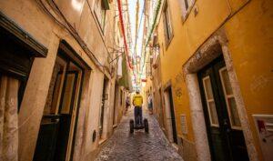 Visite d'Alfama en segway à Lisbonne