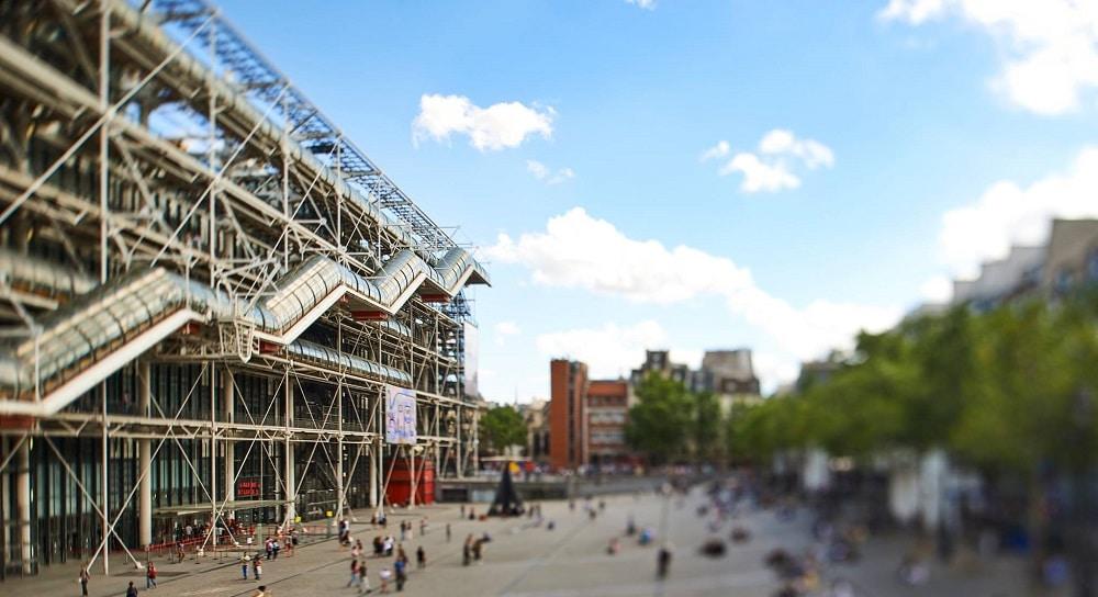 Visiter le Centre Pompidou, le plus grand musée d'art moderne et contemporain d'Europe !