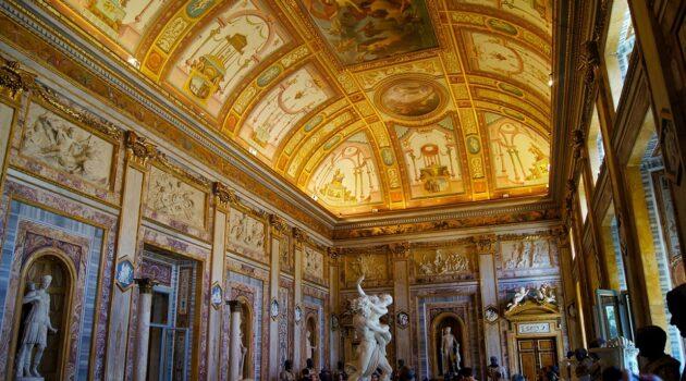 Visiter la Galerie Borghese dans la villa éponyme à Rome