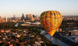 Vol montgolfière à Melbourne