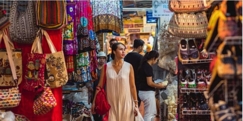 Chatuchak, marché, Bangkok
