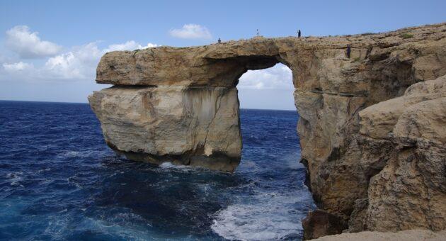 Malte : la Fenêtre d'Azur de l'île de Gozo s'est effondrée