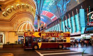 Bus Las Vegas de nuit