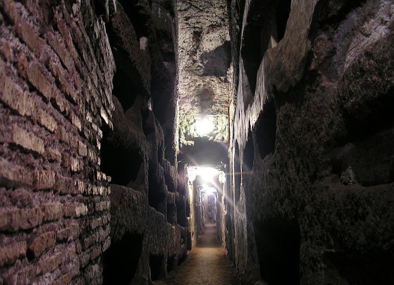 Catacombes de Domitille, Rome