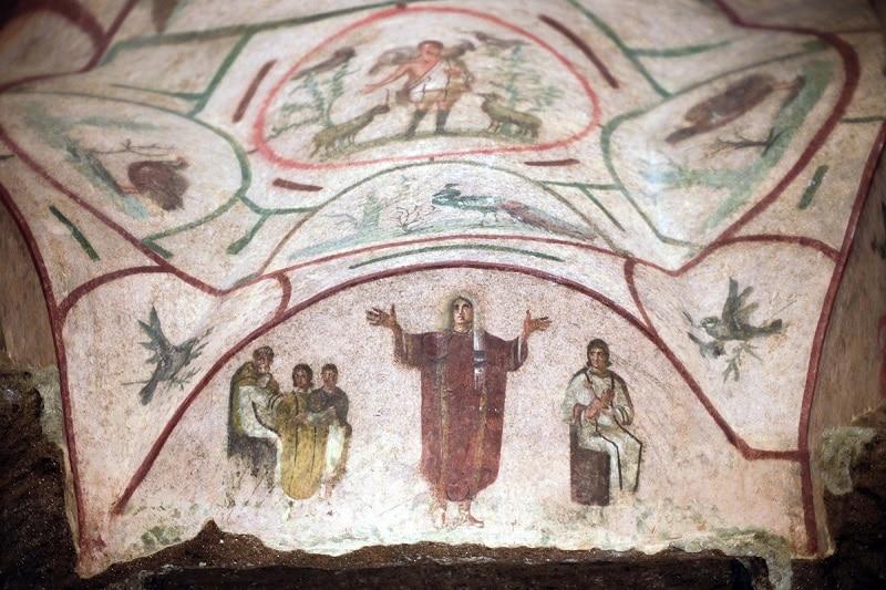 Catacombes de Priscille, Rome