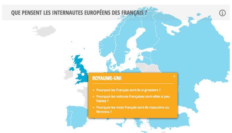 Clichés sur les français au Royaume-Uni