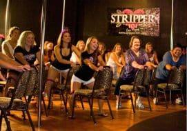 Cours de strip-tease à Las Vegas