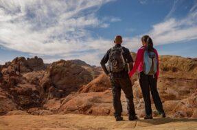Excursion randonnée dans la Valley of Fire, Las Vegas