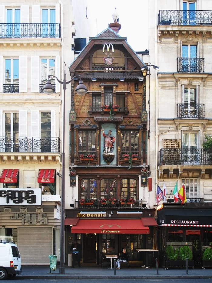 les 10 restaurants mcdonald 39 s les plus insolites au monde. Black Bedroom Furniture Sets. Home Design Ideas