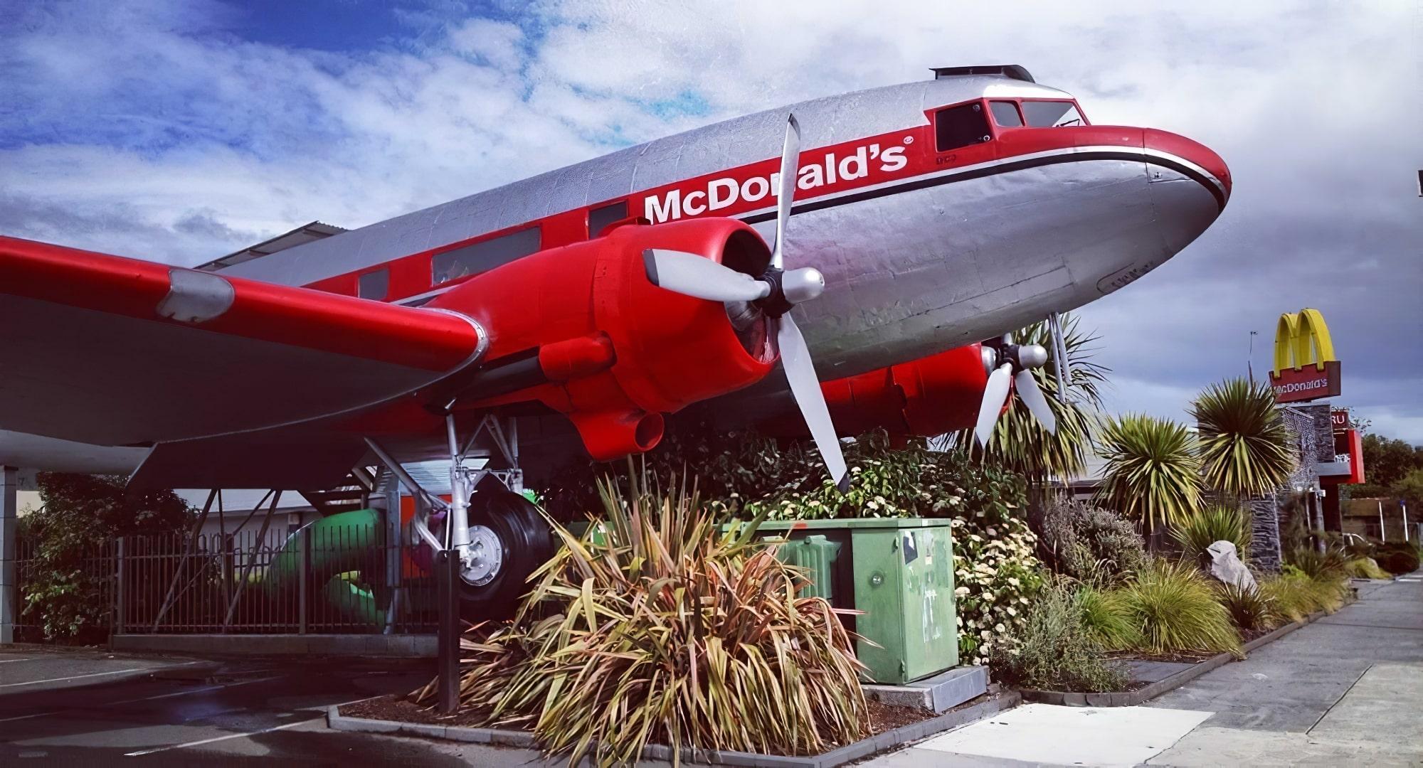 Les 10 restaurants McDonald's les plus insolites au monde