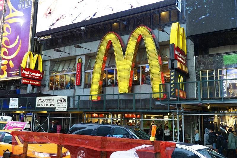 Mcdonald's Time Square