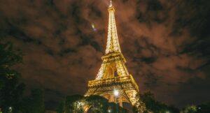 Mur de verre Tour Eiffel