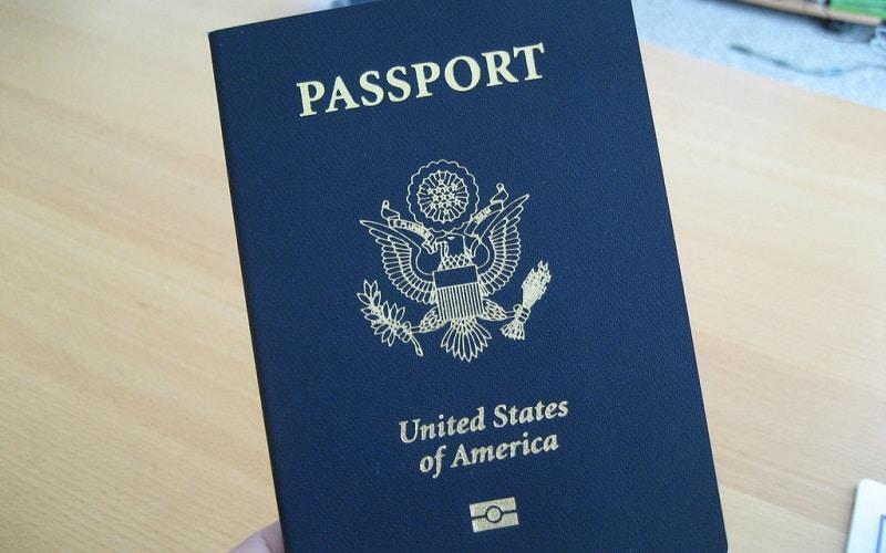 Passeport bleu