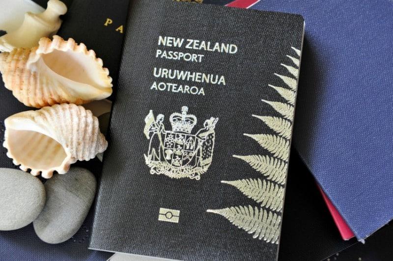 Passeport noir de la Nouvelle-Zélande