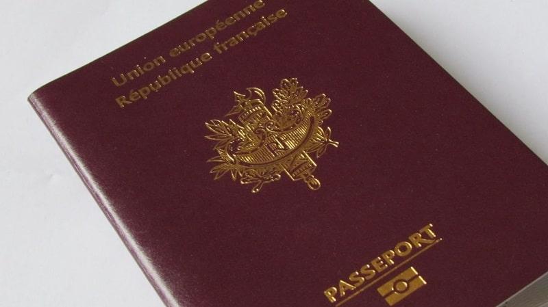 Passeport rouge