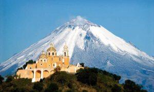Puebla et la Pyramide de Cholula au Mexique