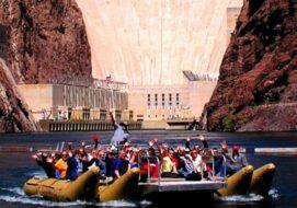 Rafting sur le Colorado et visite du Barrage Hoover