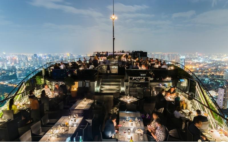 Rooftop à Bangkok