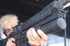 Séance de tir avec armes à Las Vegas