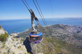 Téléphérique pour la Table Mountain, Le Cap