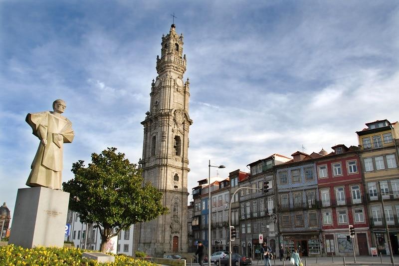 Tour des clercs à Porto