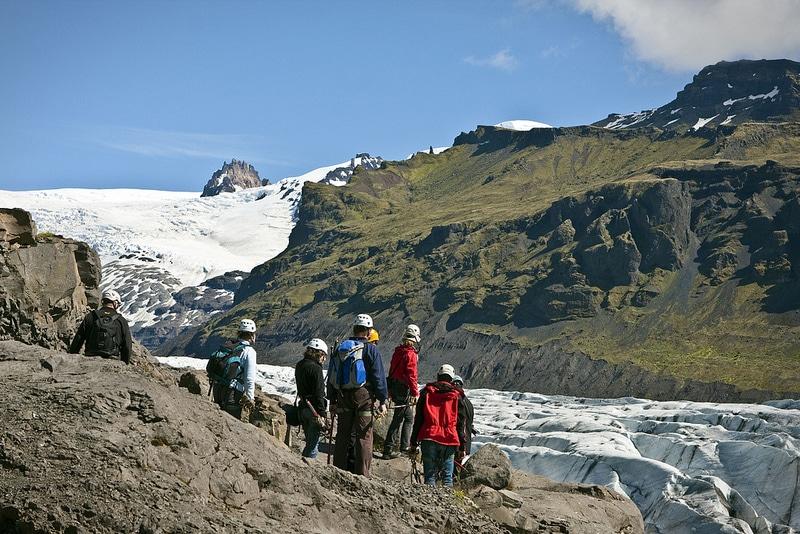 Touristes en Islande