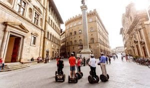 Visite de Florence en segway