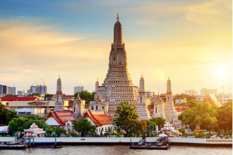 Temple Wat Arun, Bangkok