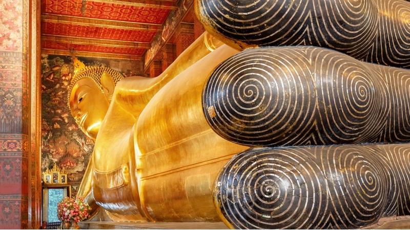 Bouddha, Wat Pho, Bangkok