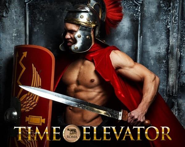 Réservation de billets pour l'ascenseur temporel de Rome