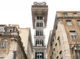 Billet ascenseur de Santa Justa, Lisbonne
