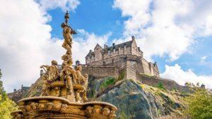 Billet coupe-file pour le château d'Edimbourg