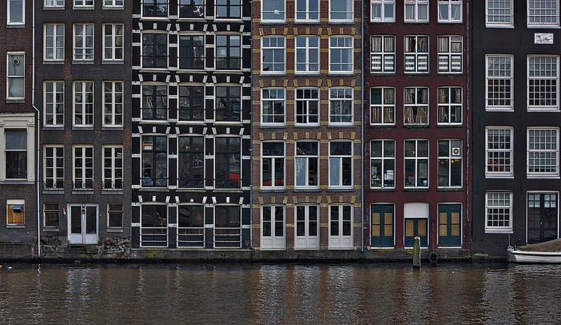 Boucle des canaux à Amsterdam