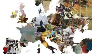 Une carte d'Europe des œuvres les plus emblématiques de chaque pays