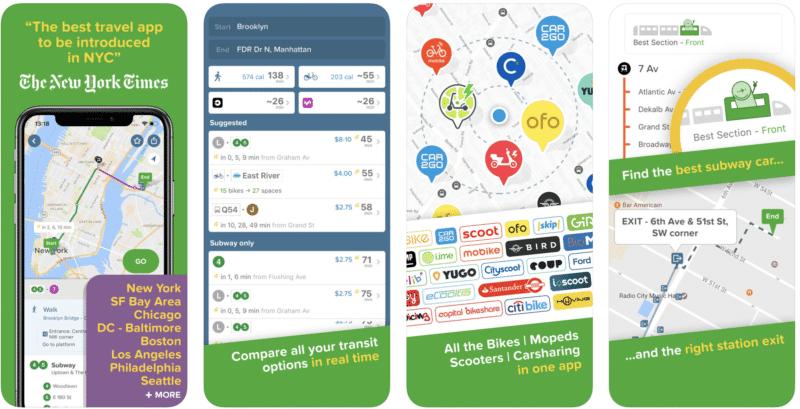 Application Citymapper