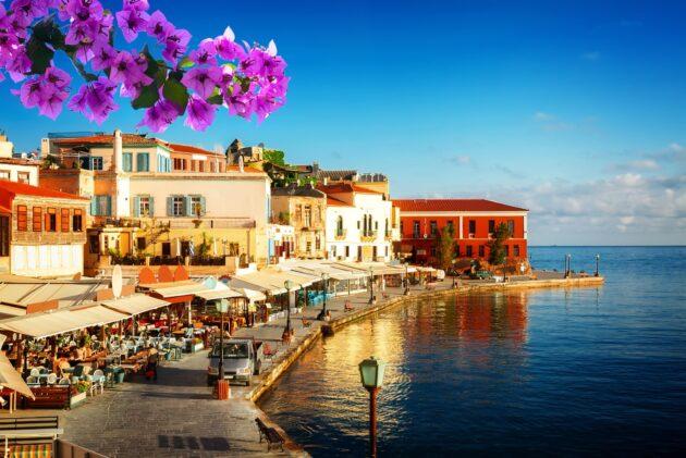 Dans quelle ville loger en Crète ?