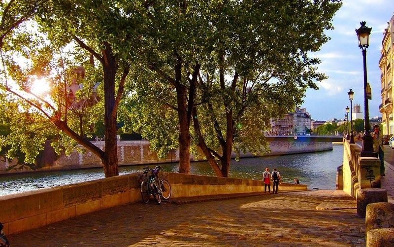 Île de la cité, loger à Paris