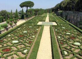 Jardins pontificaux de Castel Gandolfo, à Rome