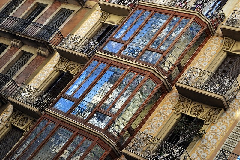 Loger à L'Eixample, Barcelone