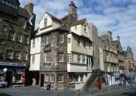 Maison de John Knox à Édimbourg