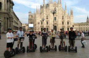 Milan en segway