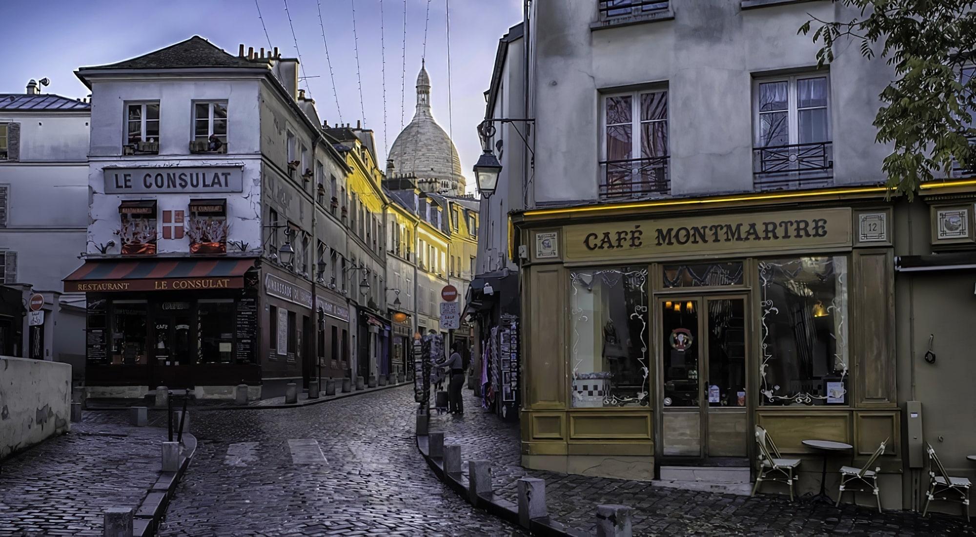 Montmartre, loger à Paris