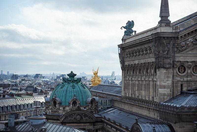 Opéra, loger à Paris